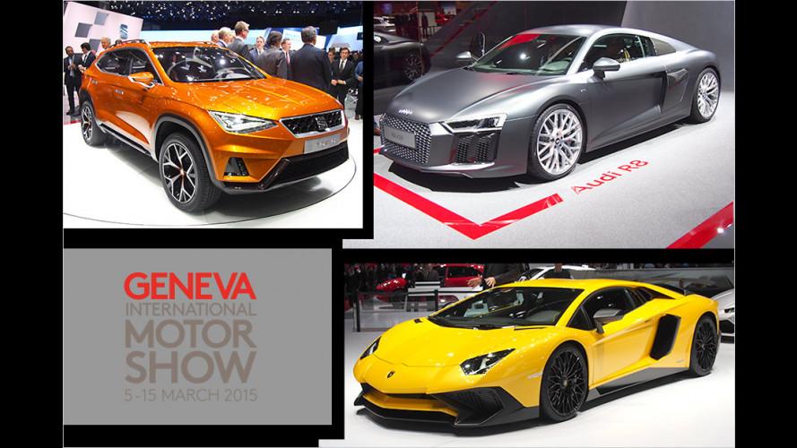 Die Highlights vom Genfer Autosalon 2015