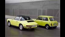 Mini gratuliert Porsche