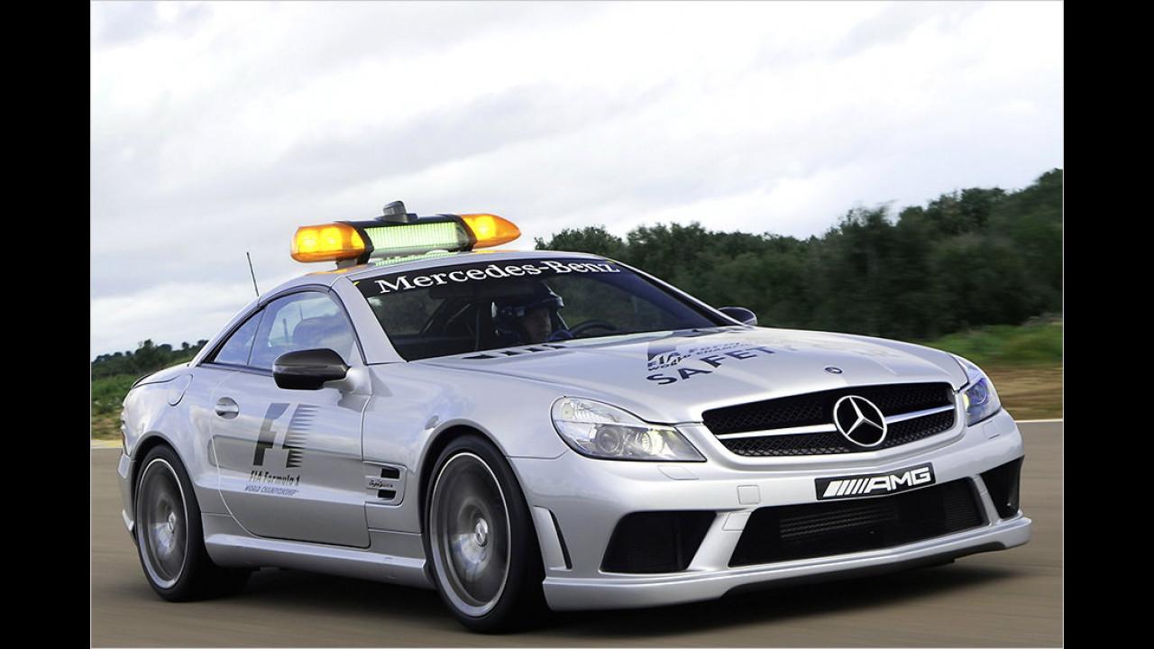 Formel-1-Saison 2008: Mercedes SL 63 AMG
