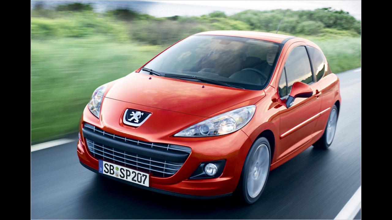 Top: Peugeot 207