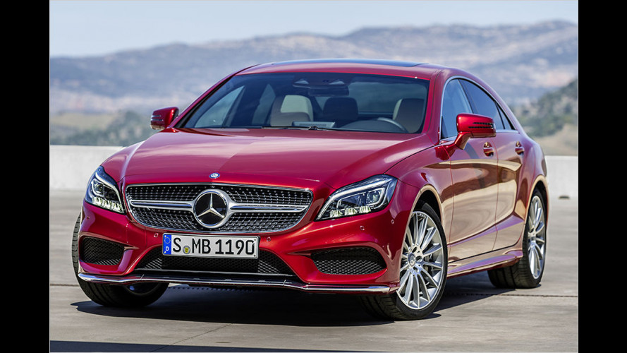 Mercedes CLS Coupé und Shooting Brake: Feines Facelift