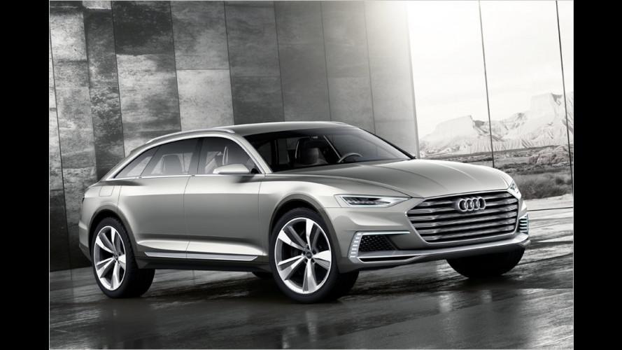 Plug-in-Hybride in Shanghai 2015: Audi Prologue Allroad, Q7 e-tron und A6 L e-tron