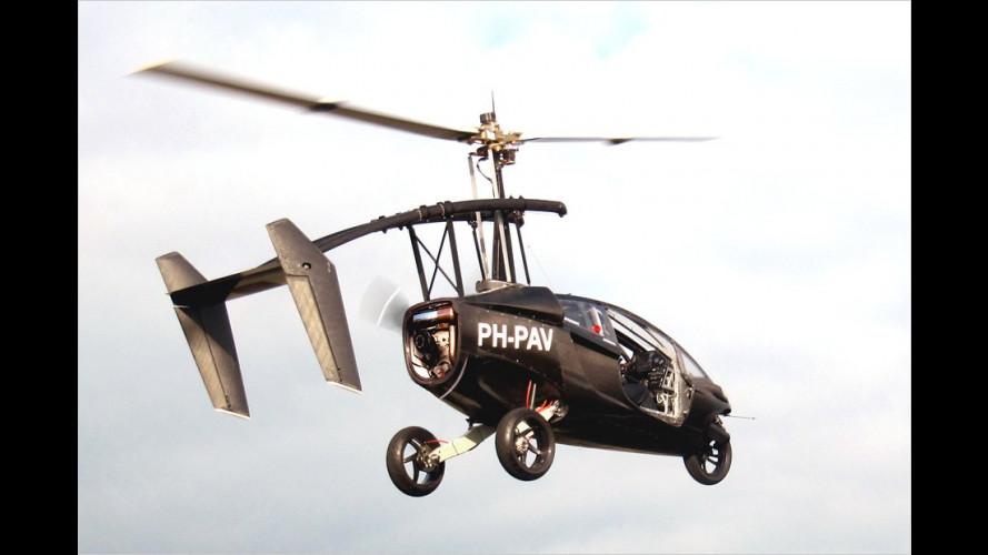 PAL-V aus den Niederlanden kombiniert Flugzeug und Auto (2012)