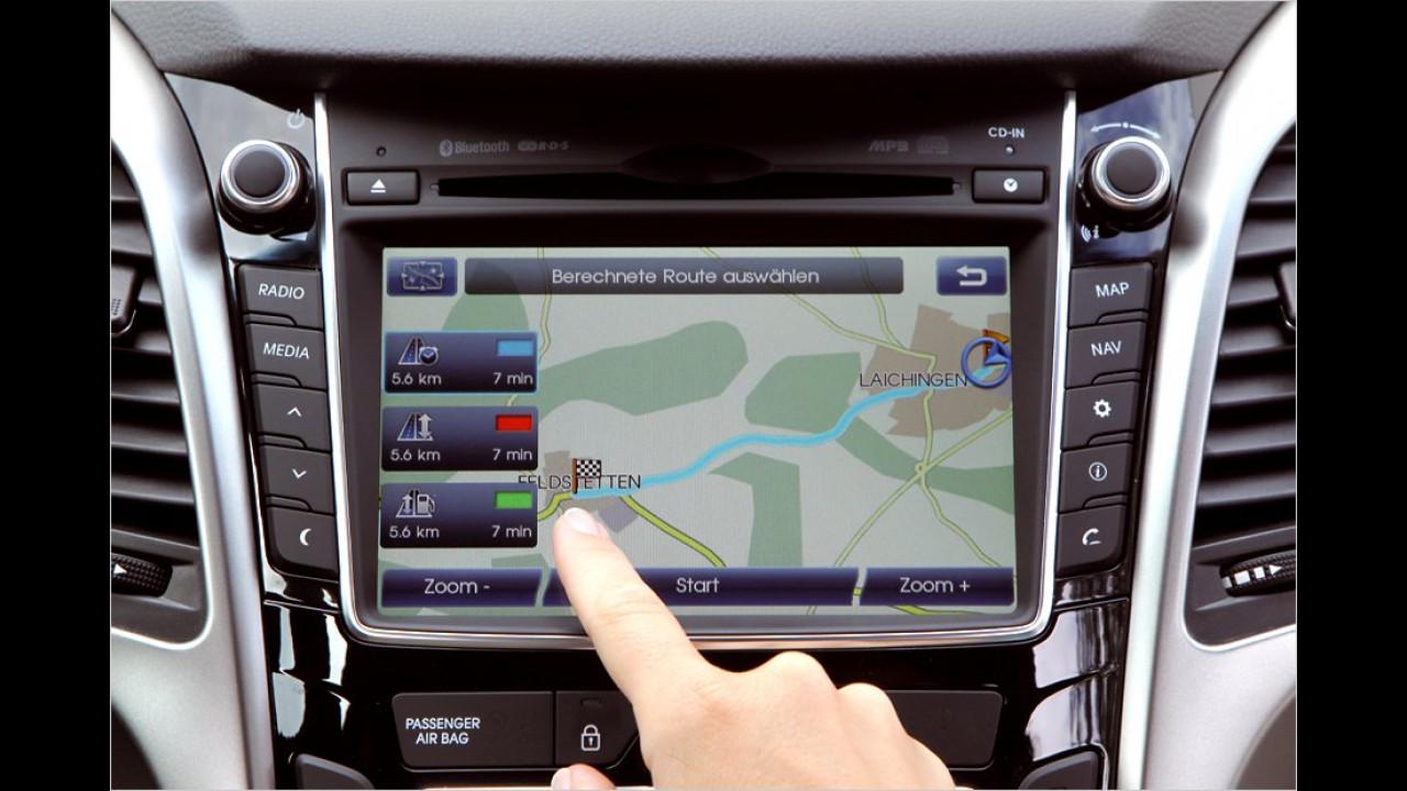 Verfügbare Technik: Hyundai i30