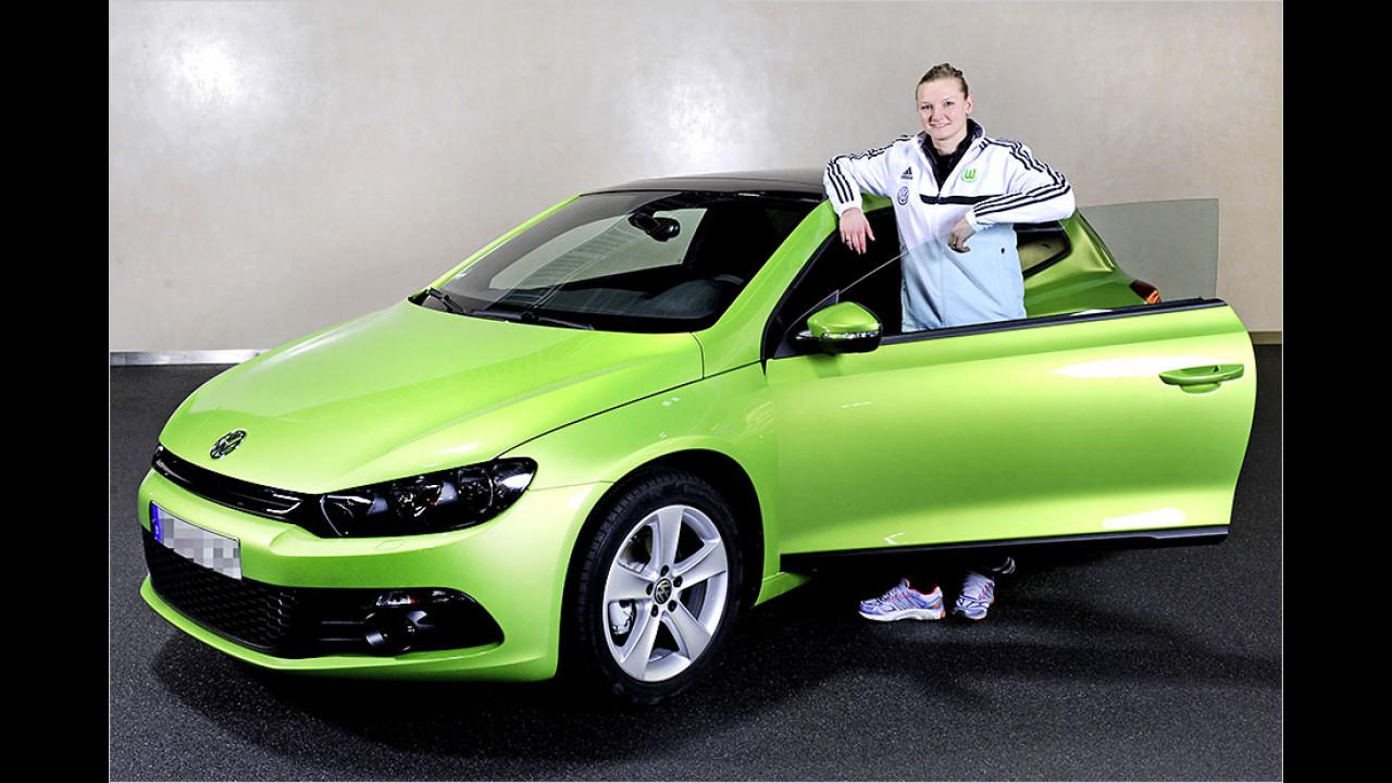 Alexandra Popp: VW Scirocco