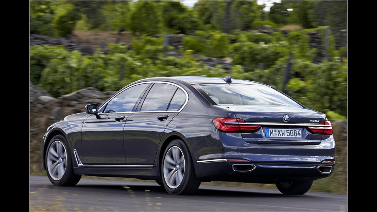 Platz 2: BMW 7er