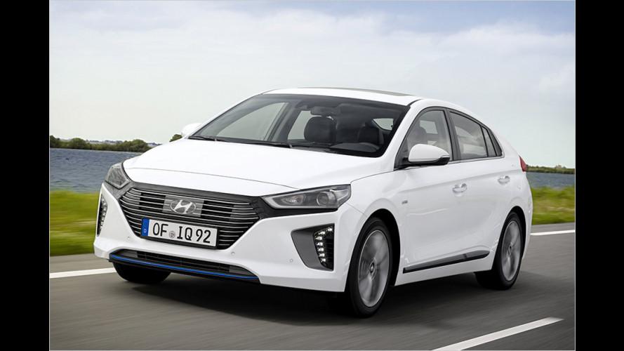 Als Elektro oder als Hybrid: Neuer Hyundai Ioniq im Test