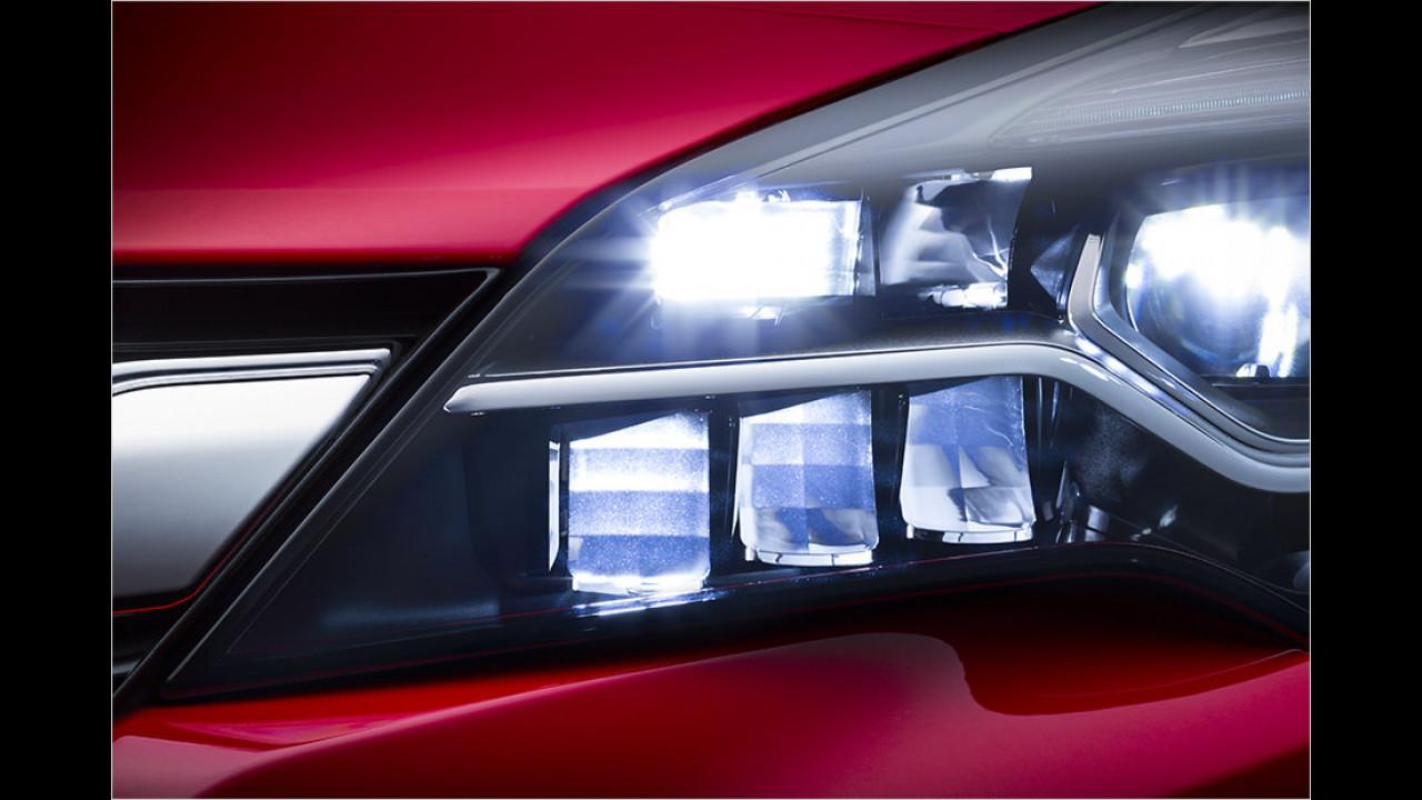 Matrix-LED-Scheinwerfer auf Wunsch