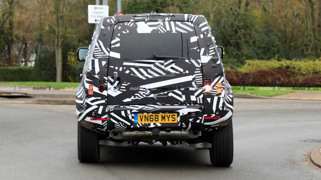 Foto di Land Rover Defender Spy