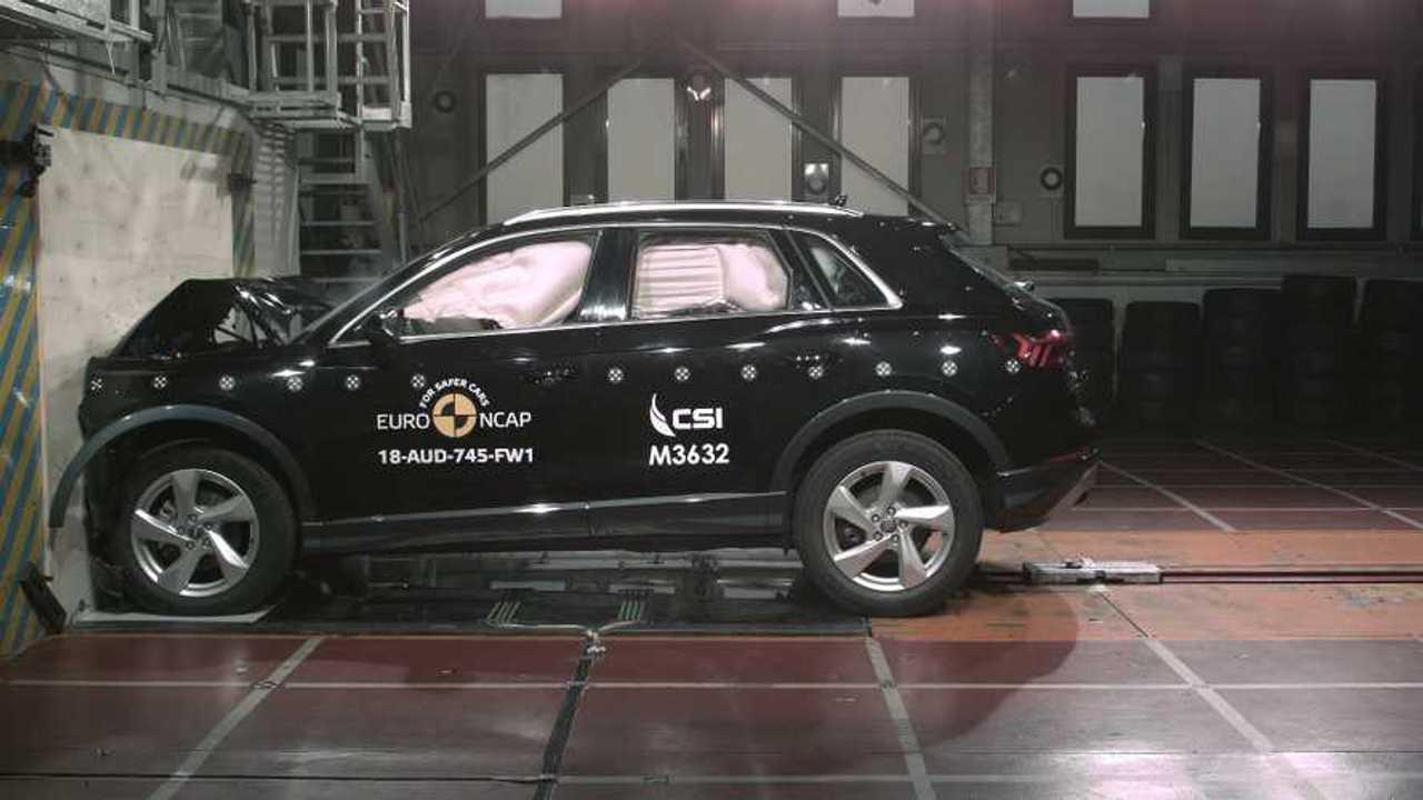 Yeni Audi Q3, Euro NCAP çarpışma testi