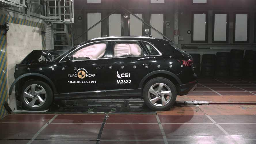 Audi Q3 Euro NCAP crash test
