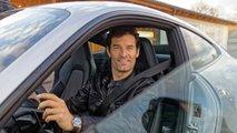 Mark Webber dans la Porsche 911 (992)