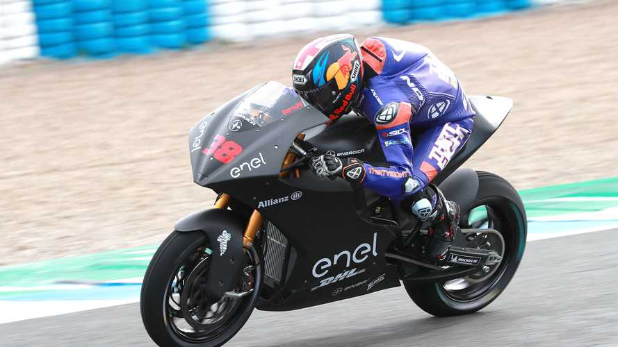 MotoE Test Rider Shocked By New Bike's Performance
