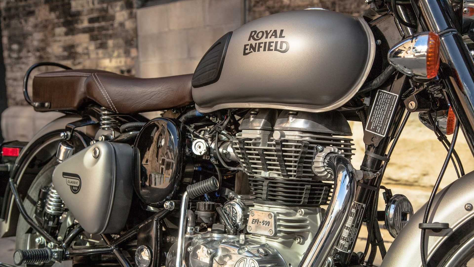 Royal Enfield Could Be Working On A Classic 500 Scrambler