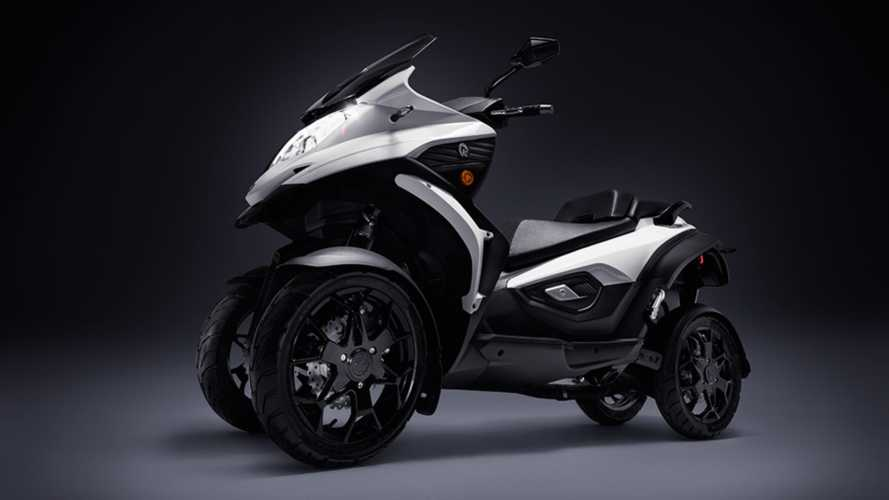 Zero Gives Quadro's Four-Wheeled Scooter A Charge