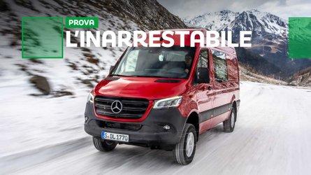 Nuovo Mercedes Sprinter 4x4, sicurezza ad alta connessione