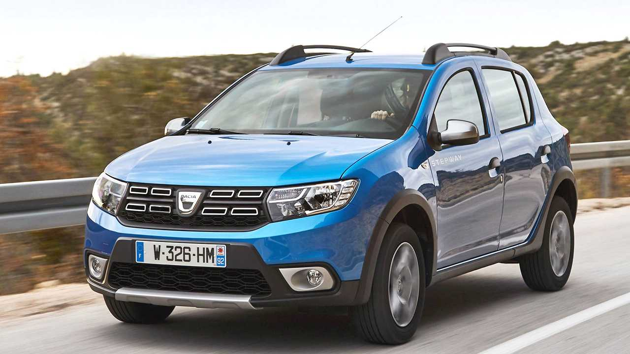 dacia sandero stepway marktstart anfang 2020 fotos. Black Bedroom Furniture Sets. Home Design Ideas