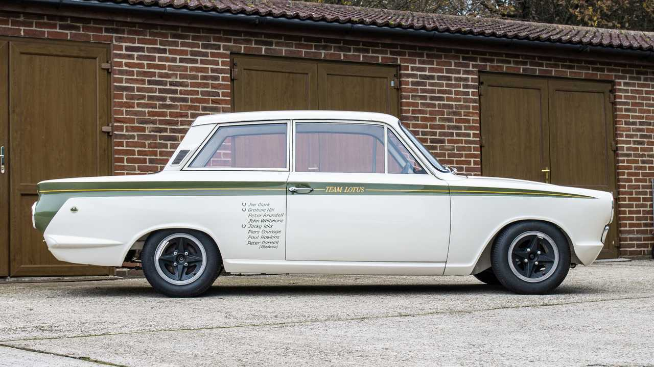 1966 Ford Lotus Cortina 5 Works side