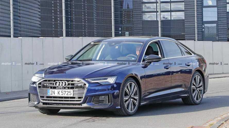 Yeni Audi S6 tamamen kamuflajsız olarak görüntülendi
