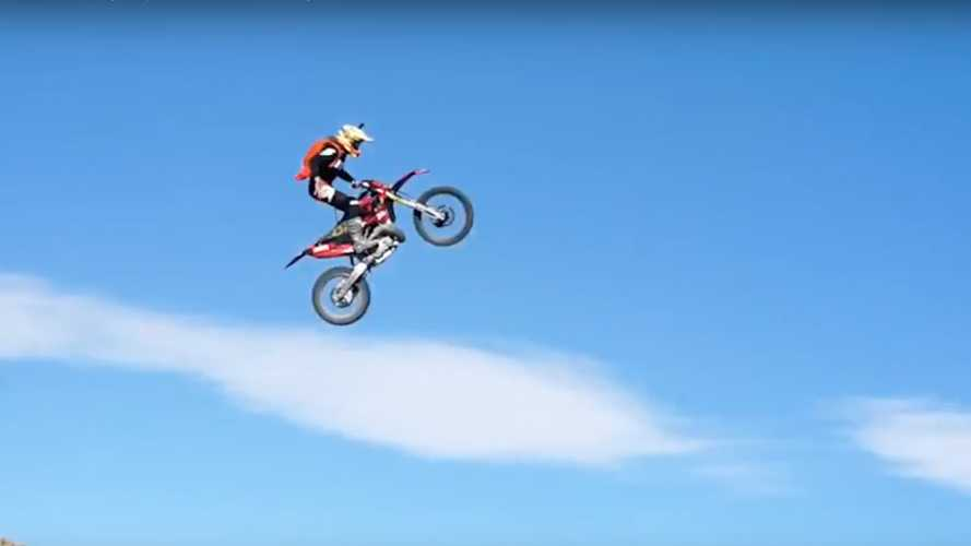 Apparently, BASE Jumping Off A Flying Bike Is A Thing