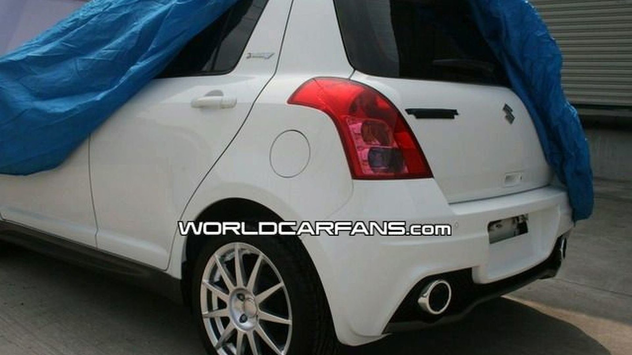 Suzuki Swift JWRC Special Edition spy photo