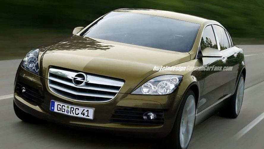 2005 Opel Omega artist rendering