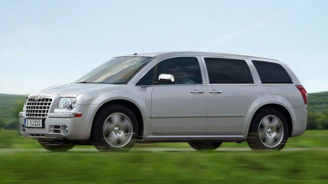2008 Chrysler Voyager Artist Rendering