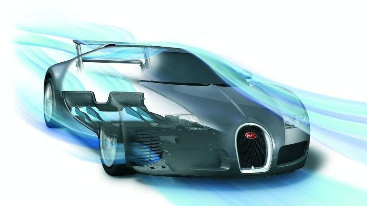 Bugatti Veyron Aerodynamics Sketch Motor1 Com Photos