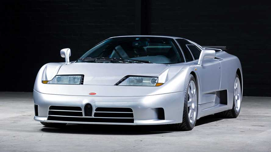 Domingo de supercarros: Bugatti EB110 Super Sport 1992
