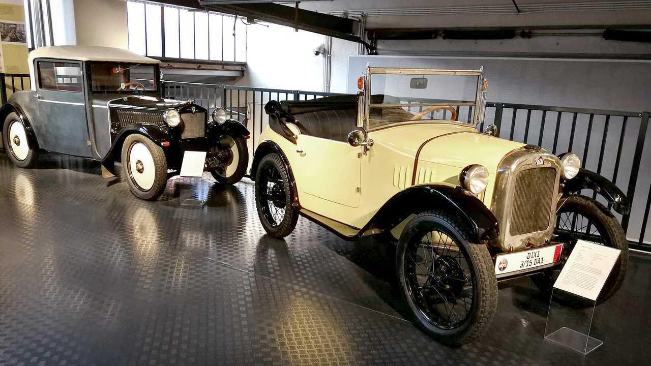 Kleinwagen-Ausstellung in Einbeck: DKW F1/Dixi 3/15 DA