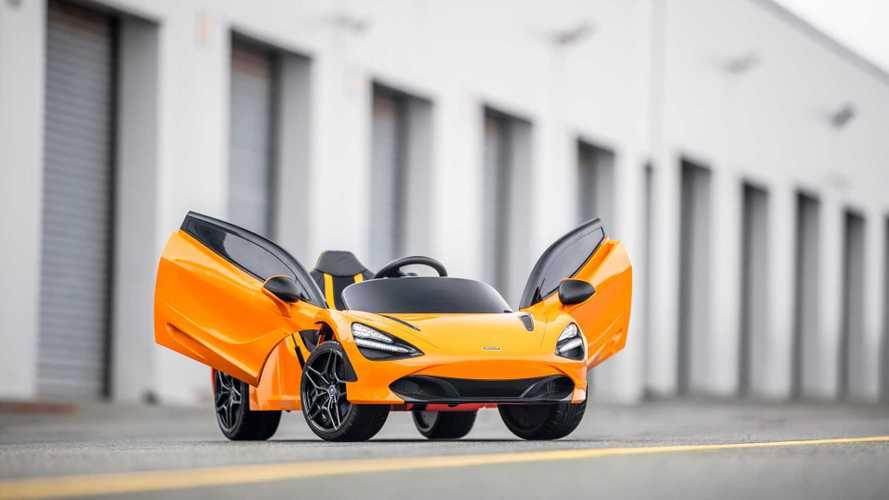 McLaren, supercar elettrica per i più piccoli