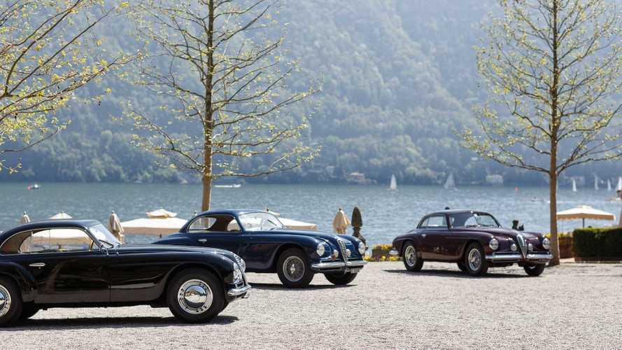 El Alfa Romeo 6C 2500 SS Villa d'Este, un coche de concurso