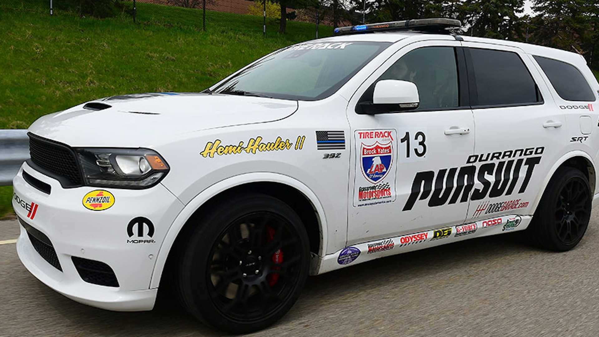 Watch 797 Hp Dodge Durango Accelerate With Brutal Force