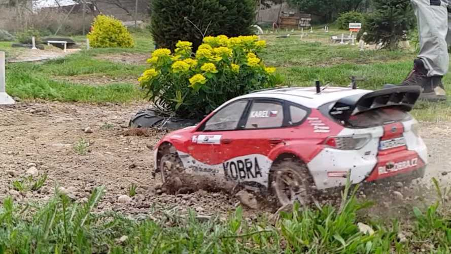These Radio-Controlled Rally Cars In Slo-Mo Look Like The Real Deal