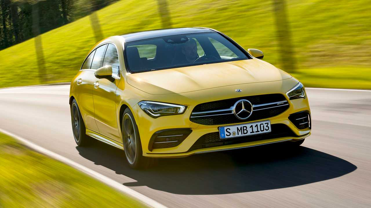 Mercedes-AMG CLA 35 Shooting Brake Debuts With Svelte Styling