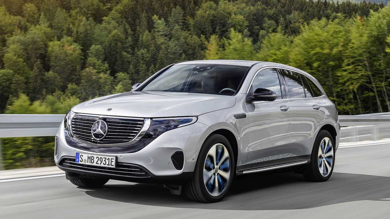 Mercedes-Benz EQC - 450 км