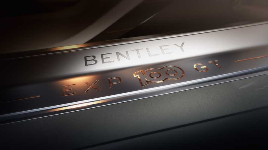 Bentley EXP 100 GT concept teasers