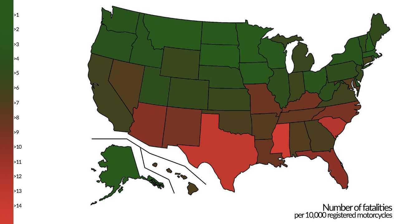 Most Dangerous States