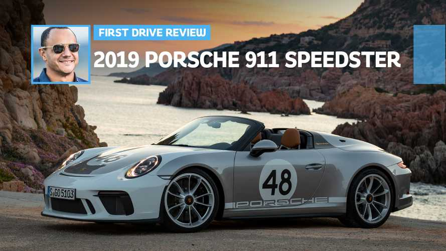 2019 Porsche 911 Speedster First Drive: Dosing The GT3 With Vitamin D