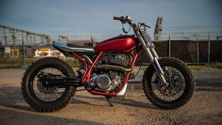 This Tiny Yamaha SR400 Custom Hides A Supercharged Secret