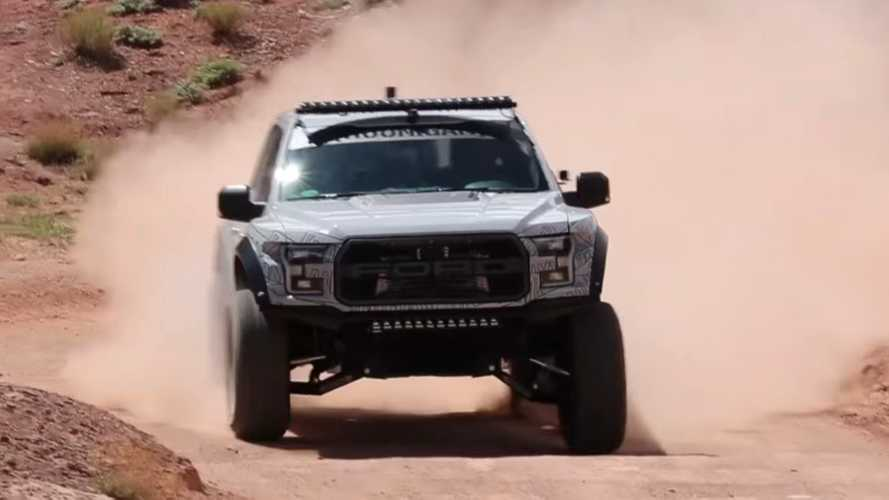 Ken Block Shows Off His Hardcore Ford F-150 Raptor