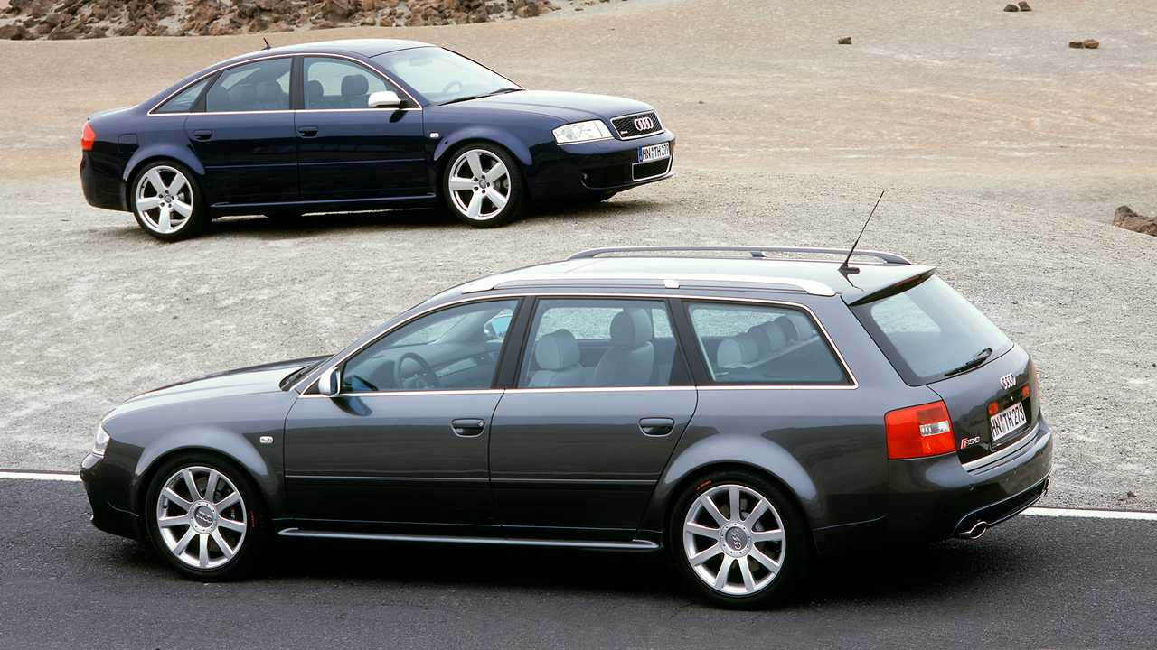 Audi RS 6 Avant et Berline (2002)