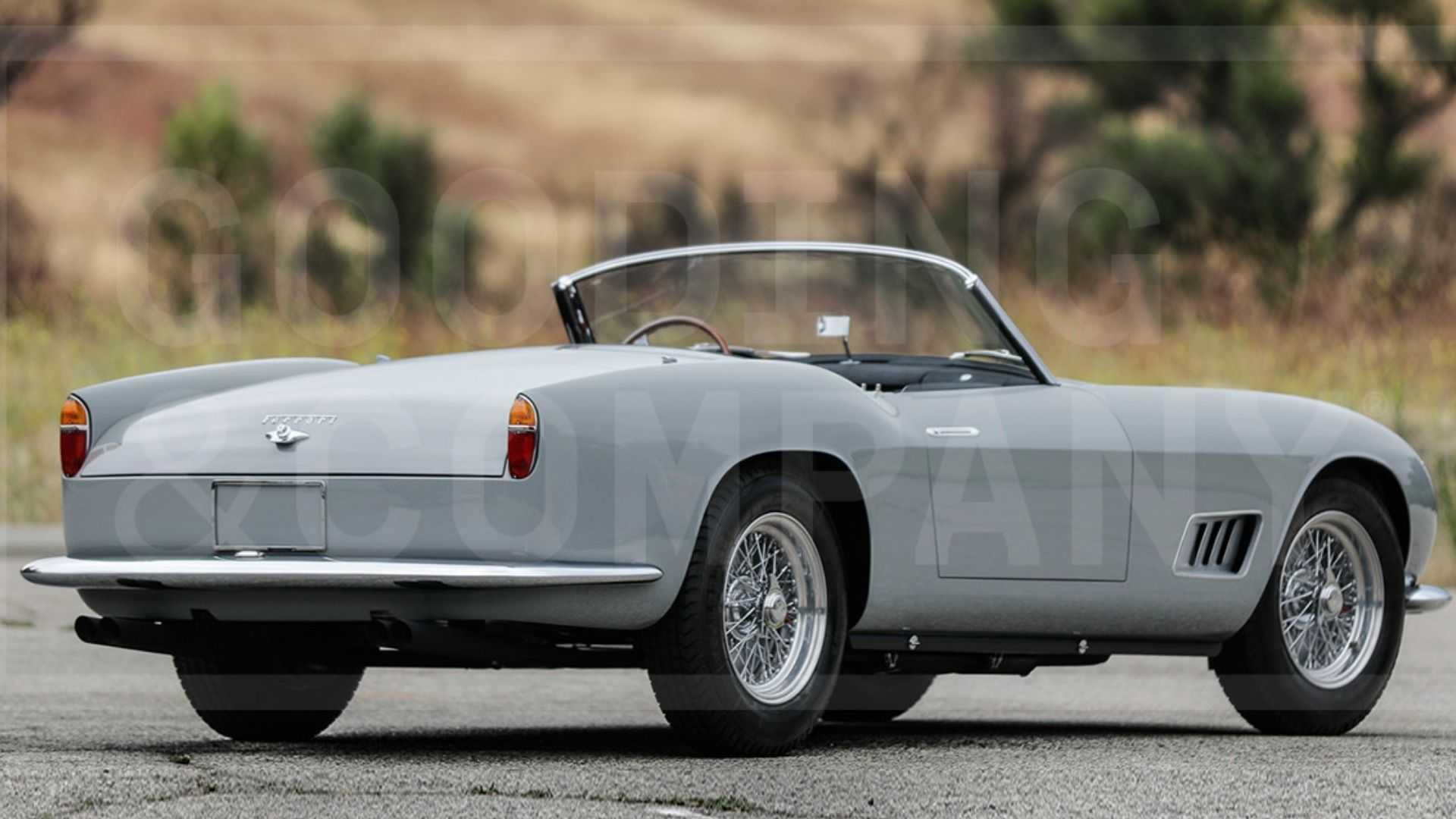 "[""1958 Ferrari 250 GT LWB California Spider Boasts An Impressive Past""]"