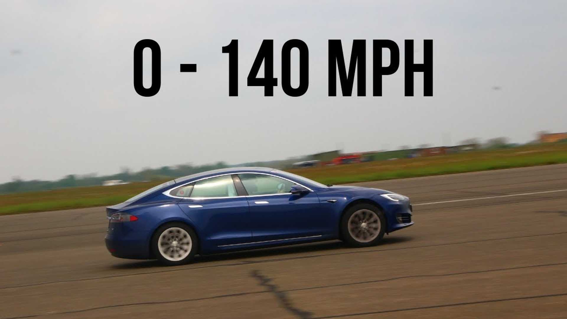 Watch Tesla Model S 75D Rip From 0 To 140 MPH In...Video