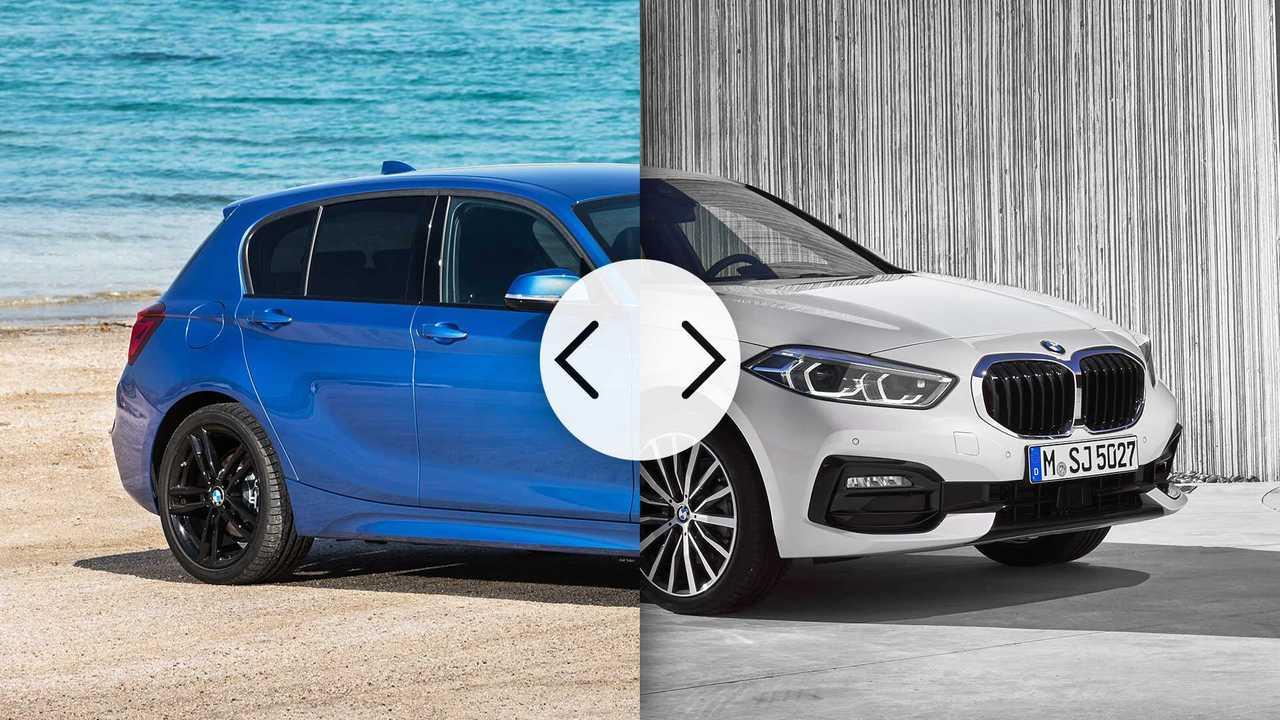 BMW Serie 1, nuova contro vecchia