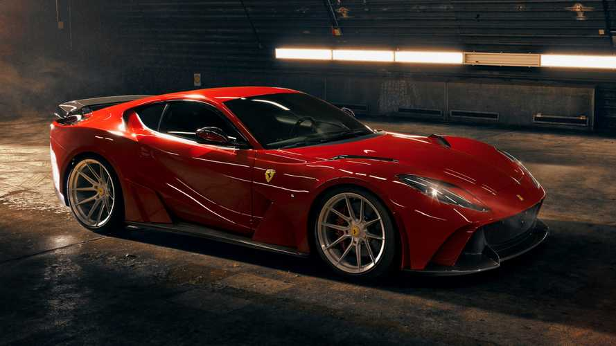 Ferrari 812 Superfast by Novitec: espectacular por dentro y por fuera