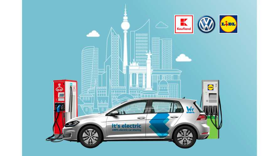 Volkswagen To Install Charging Points At Supermarkets In Berlin