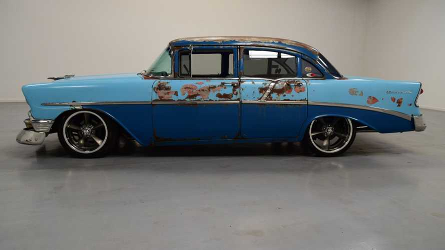 Rusty On The Outside: 1956 Chevrolet 210 Sedan