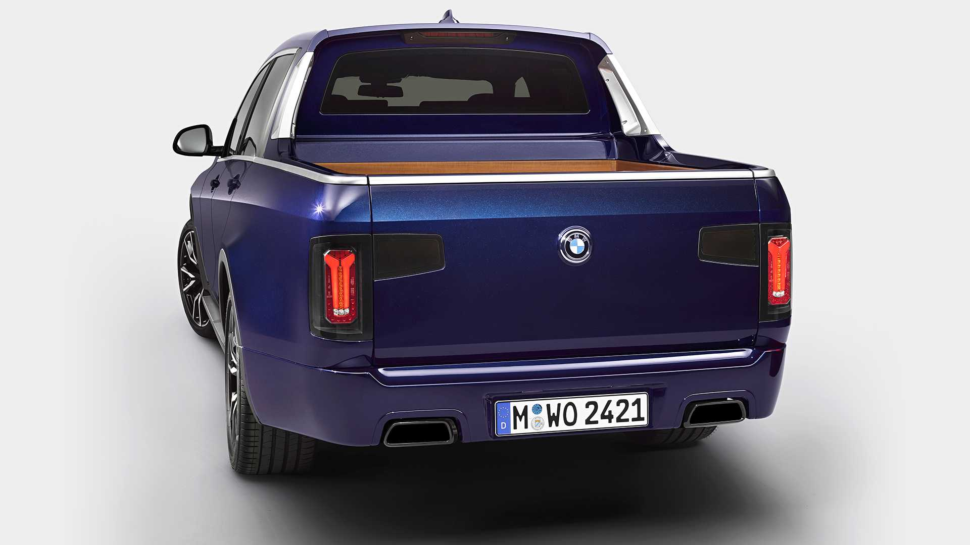 Bmw Pickup Truck >> Bmw S Motorcycle Transporter Misses The Point