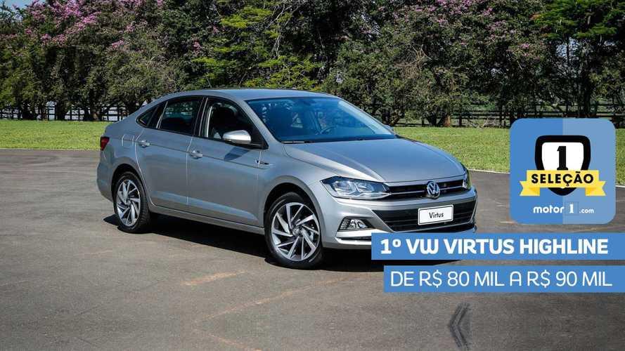 Seleção Motor1.com 2019: VW Virtus Highline vence categoria de R$ 80 mil a R$ 90 mil